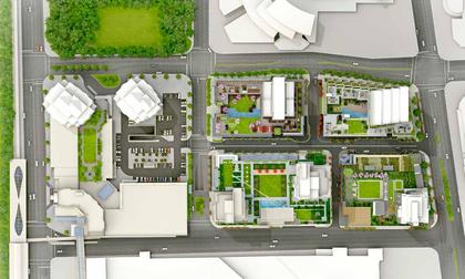 station-square-development-map at Station Square Tower 4 (6080 Mckay Avenue, Metrotown, Burnaby South)