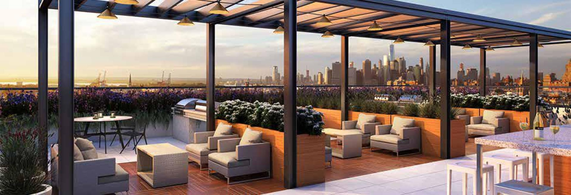 Ovation Rooftop Terrace at Ovation (813 Carnarvon Street, Downtown NW, New Westminster)
