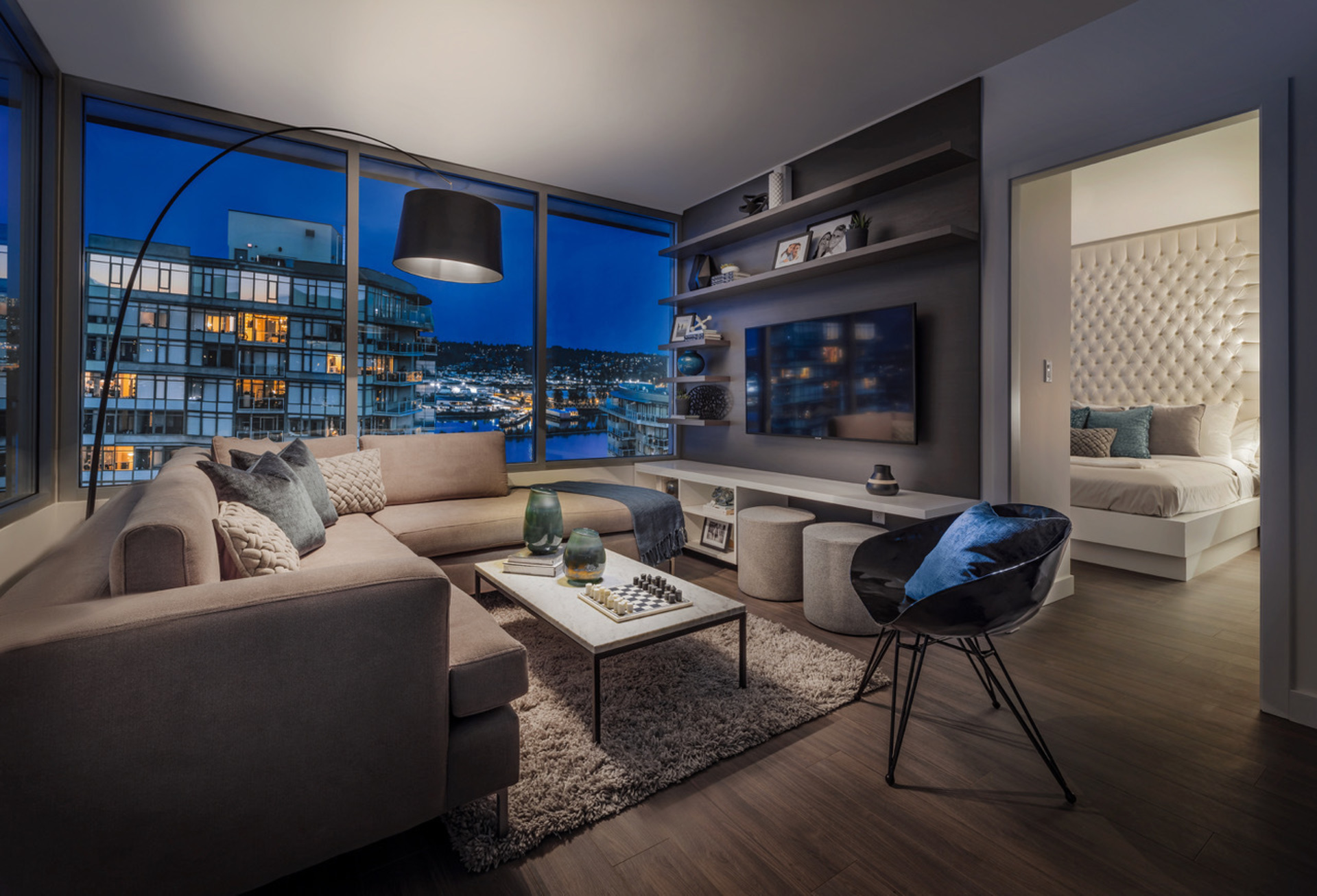 ovation-living-room at Ovation (813 Carnarvon Street, Downtown NW, New Westminster)