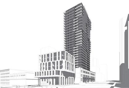 118-150-robson-st-rendering at BLOCK (118-150 Robson Street, Yaletown, Vancouver West)