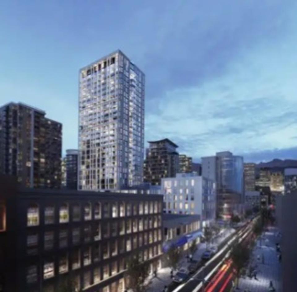 150-robson-rendering-2 at BLOCK (118-150 Robson Street, Yaletown, Vancouver West)