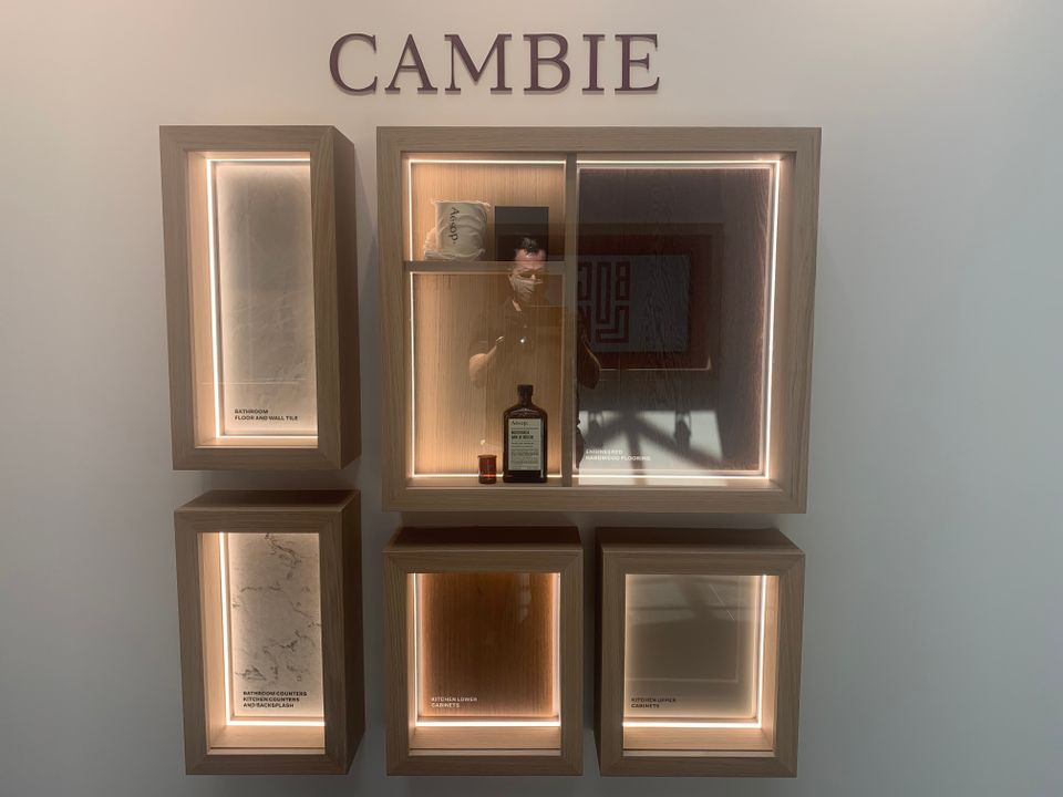 Cambie colour scheme at BLOCK (828 Cambie Street, Yaletown, Vancouver West)