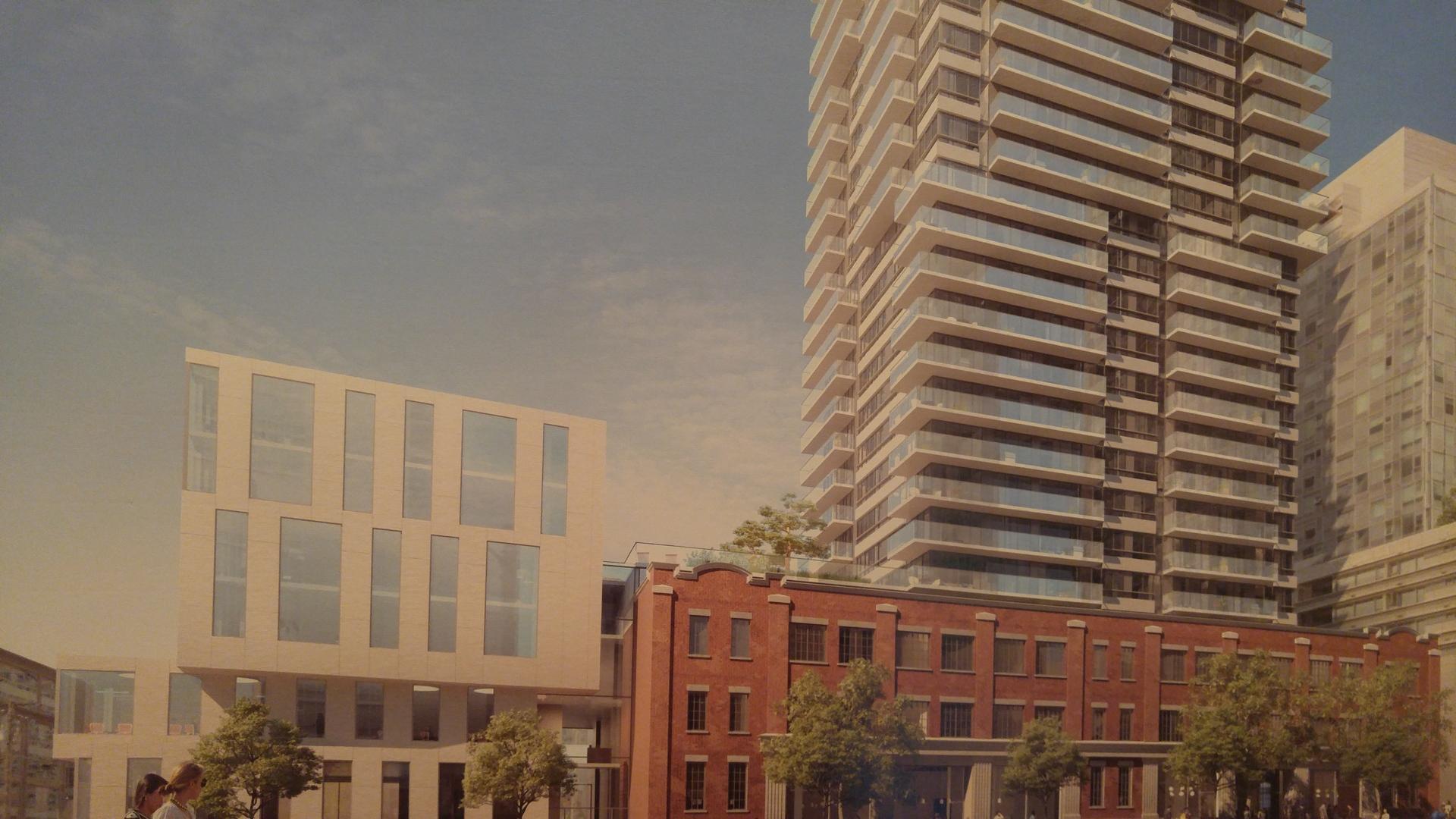 118-robson-robson-elevation-rendering at BLOCK (118-150 Robson Street, Yaletown, Vancouver West)