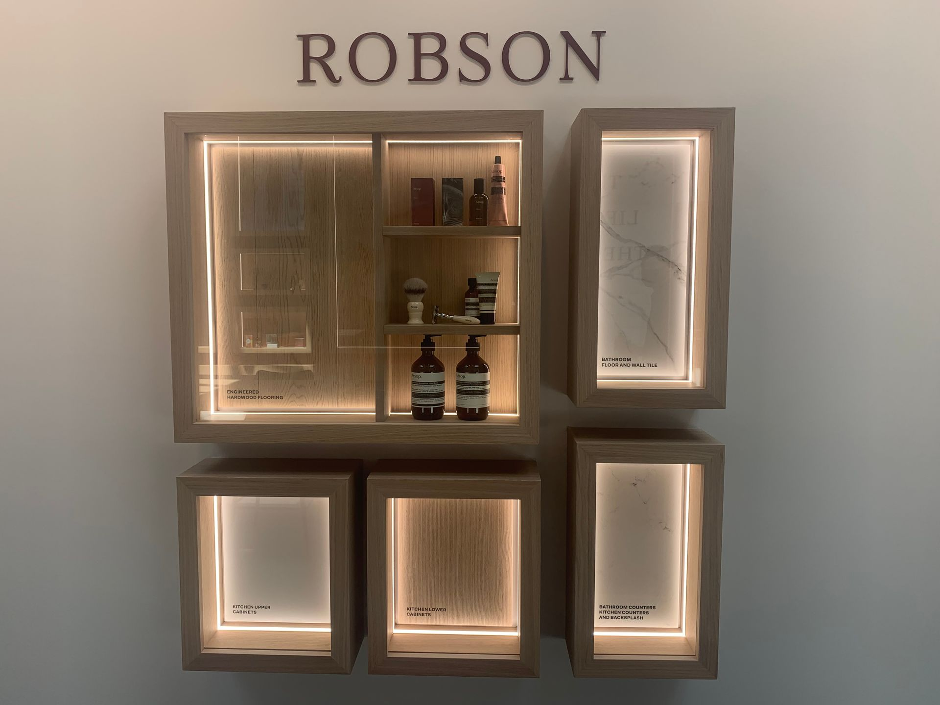 Robson colour scheme at BLOCK (828 Cambie Street, Yaletown, Vancouver West)