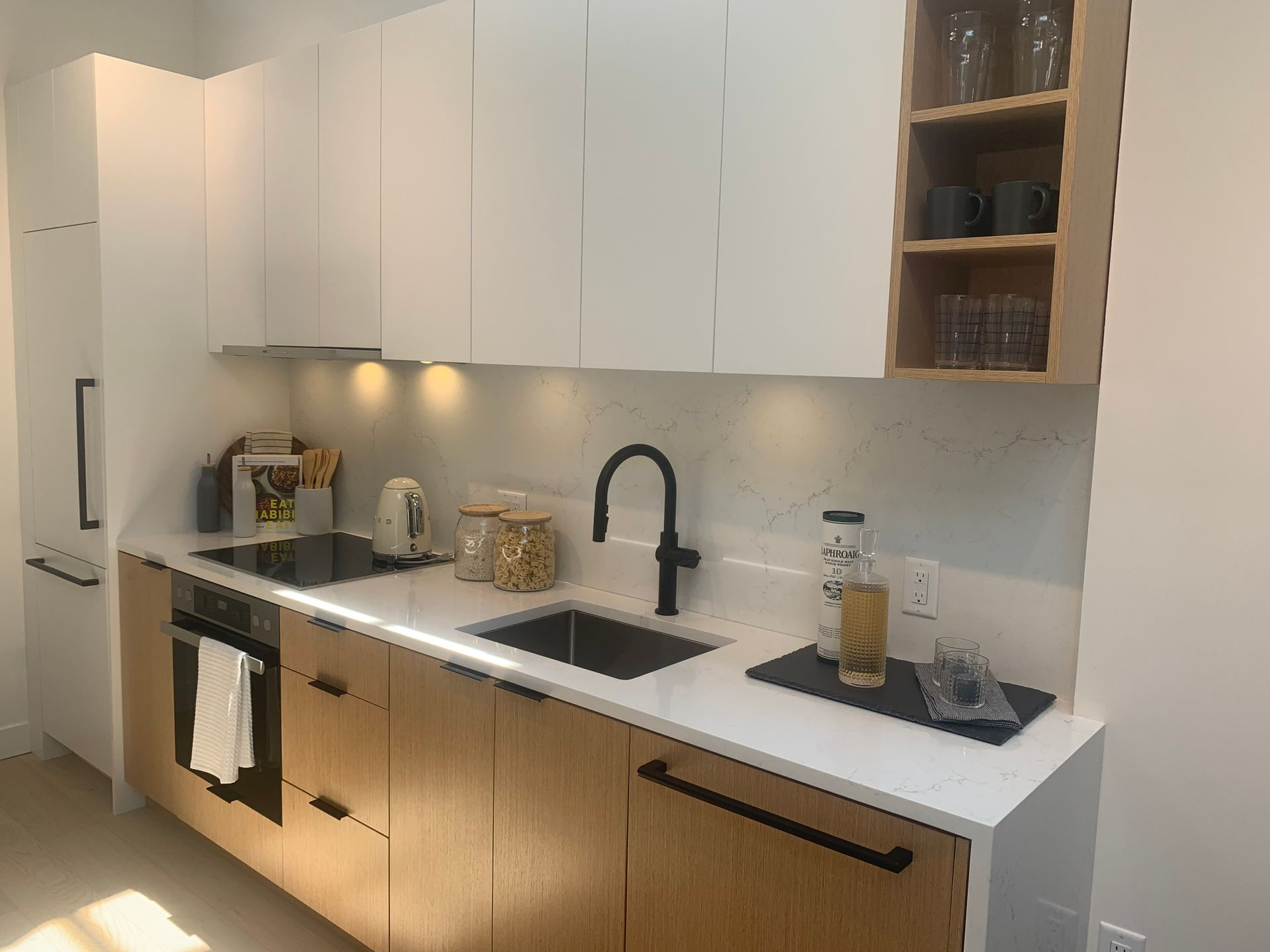 One bed kitchen in Robson colour at BLOCK (828 Cambie Street, Yaletown, Vancouver West)