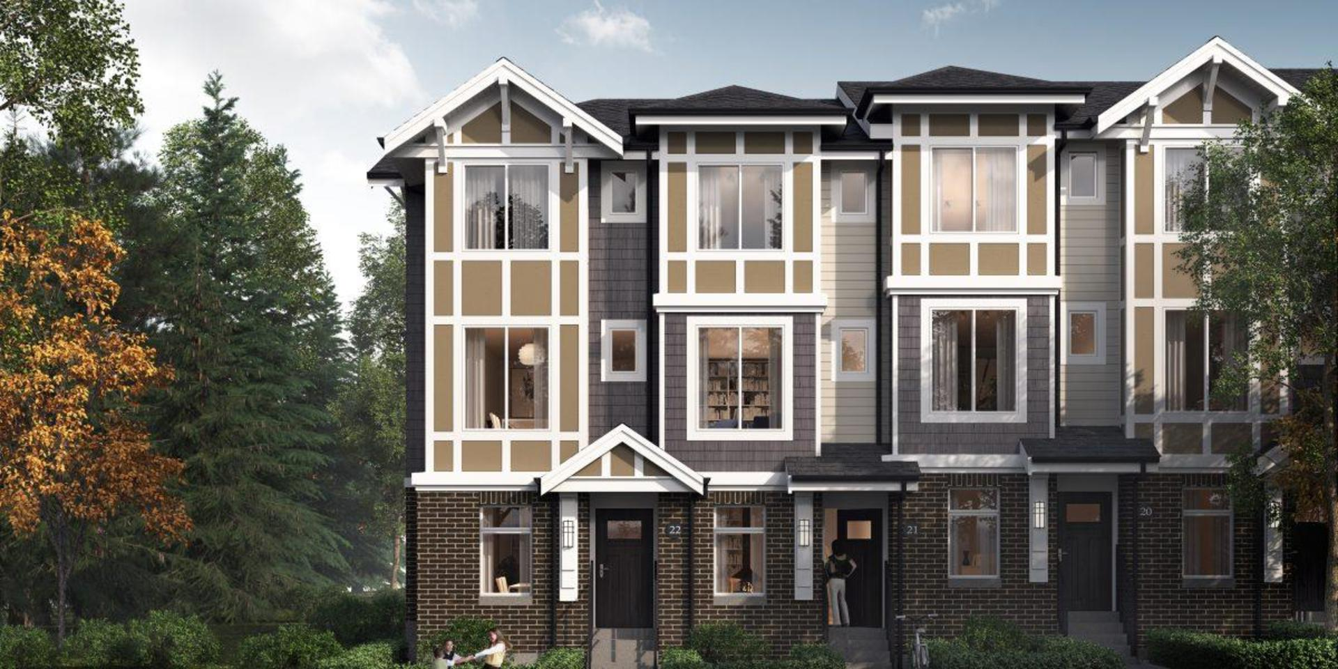 canopy-surrey-townhomes at Canopy At Tynehead Park (9718 162a Street, Fleetwood Tynehead, Surrey)