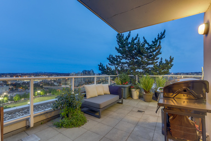 HUGE Terrace at 2405 - 550 Taylor Street, Downtown VW, Vancouver West