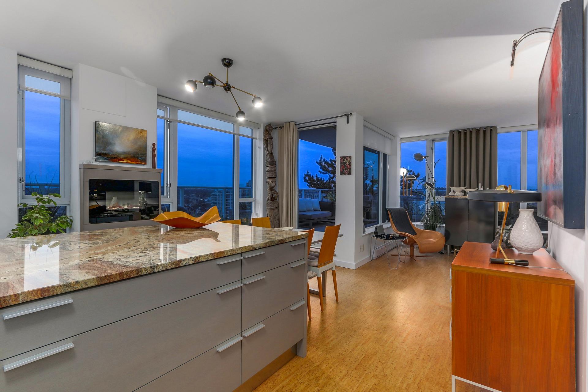The KItchen 2405 - 550 Taylor Street, Downtown VW, Vancouver West at 2405 - 550 Taylor Street, Downtown VW, Vancouver West