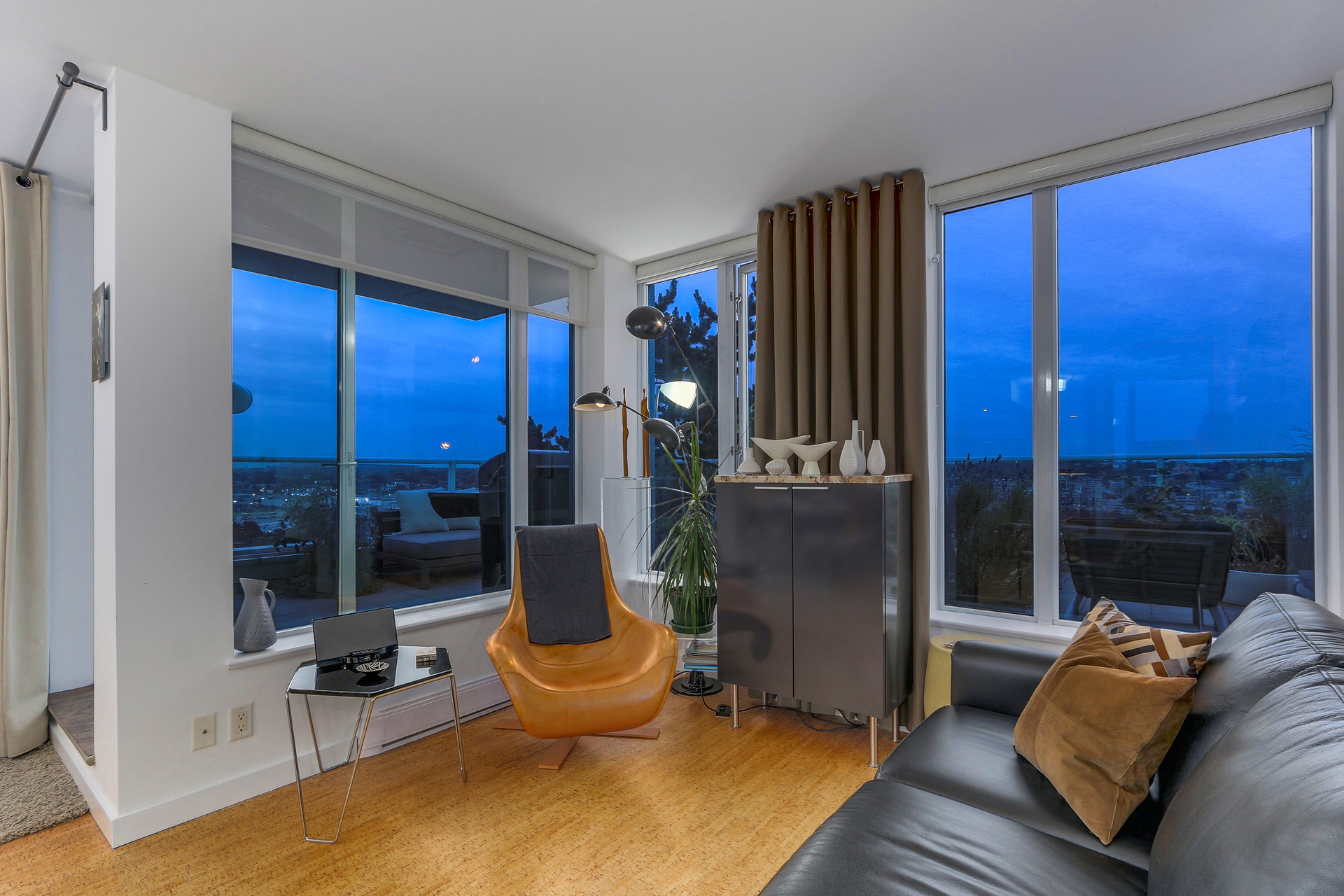 View from Living Room at 2405 - 550 Taylor Street, Downtown VW, Vancouver West