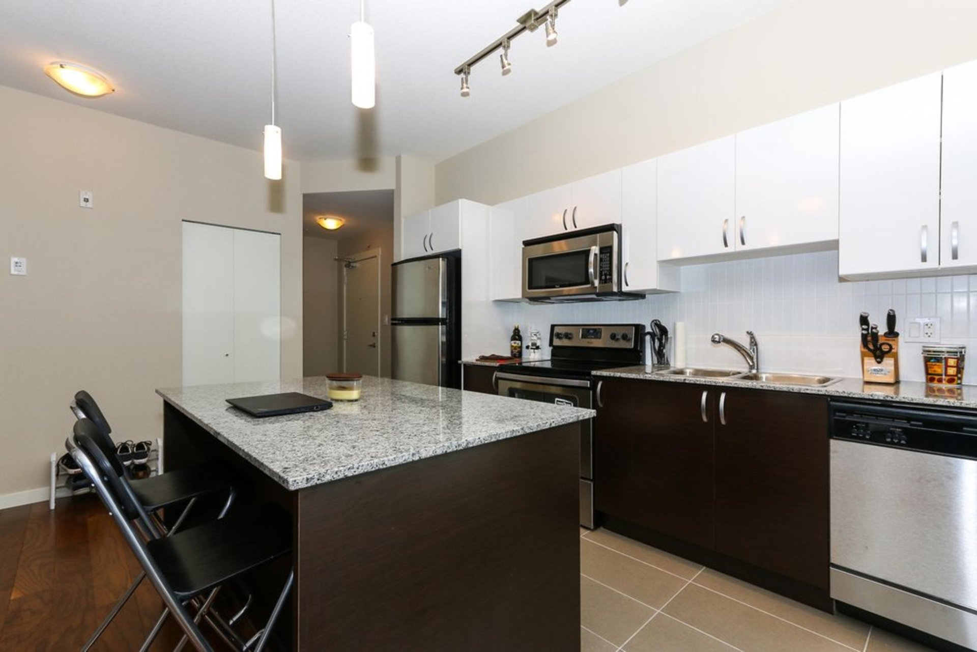 quattro-3-kitchen at 209 - 13728 108 Avenue, Whalley, North Surrey