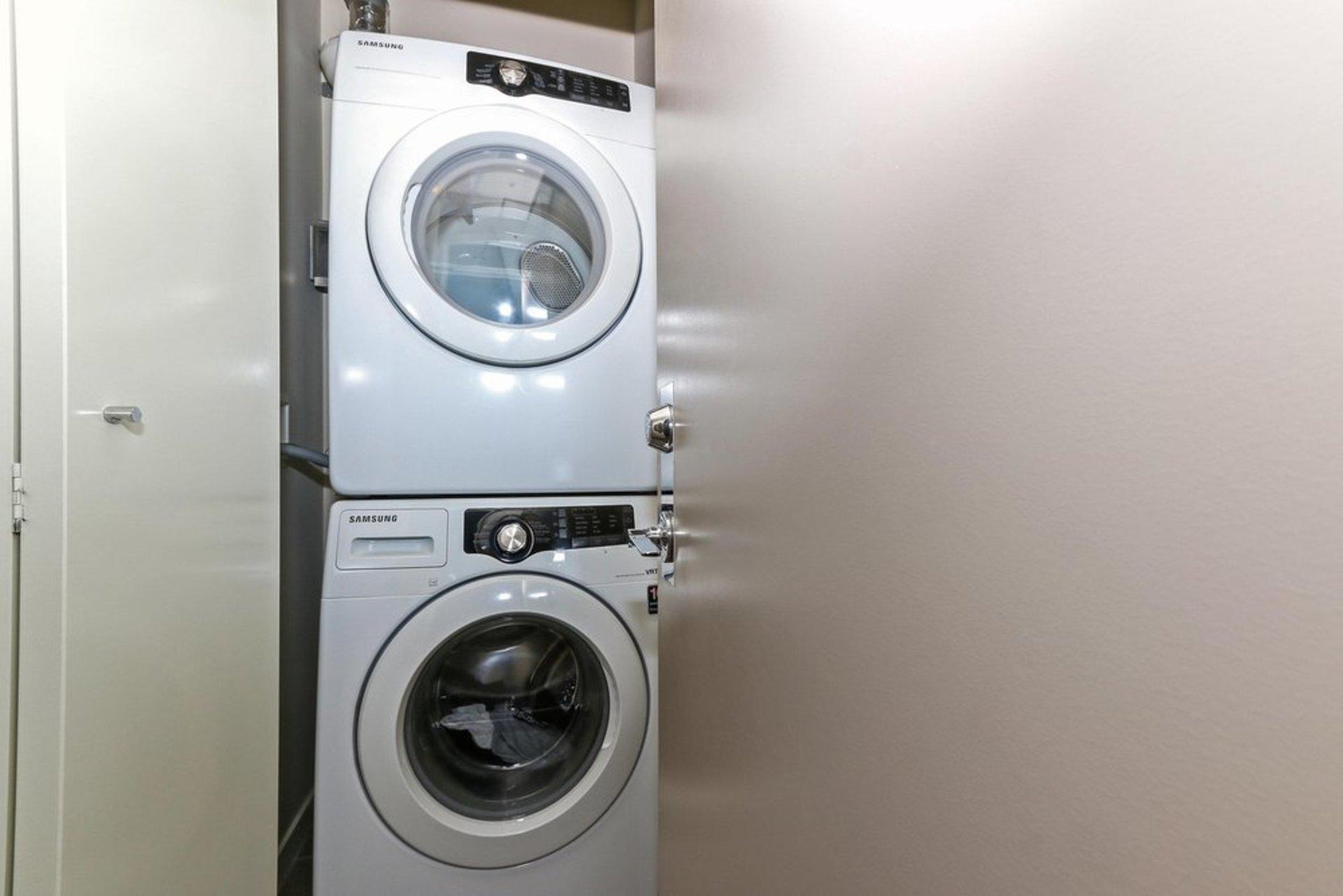quattro-3-samsung-washer-dryer at 209 - 13728 108 Avenue, Whalley, North Surrey