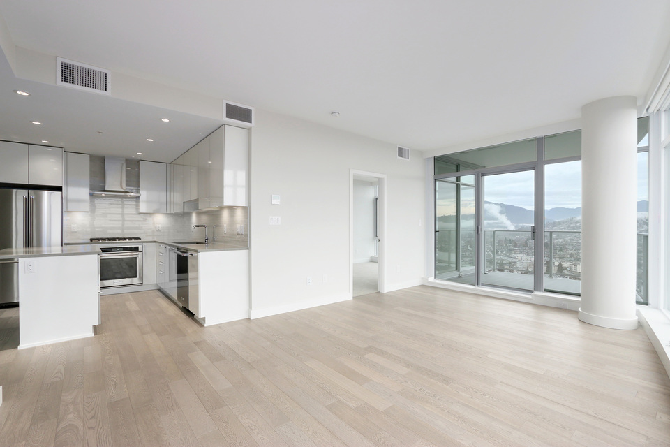 Open concept  at 3610 - 1788 Gilmore Avenue, Willingdon Heights, Burnaby North