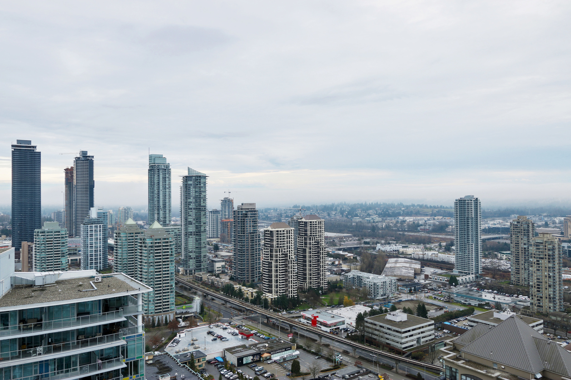 City Skyline at 3610 - 1788 Gilmore Avenue, Willingdon Heights, Burnaby North