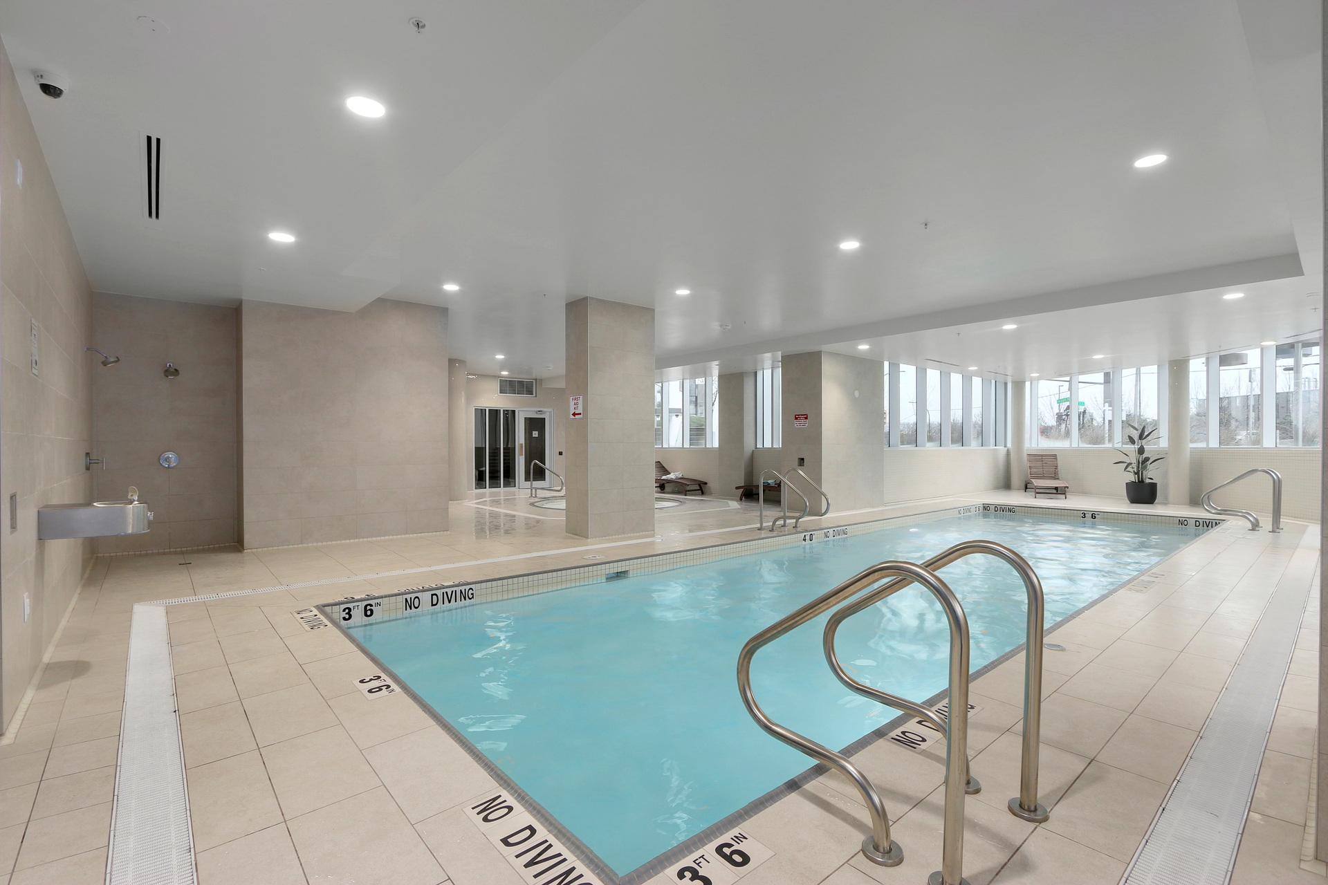 Indoor pool at 3610 - 1788 Gilmore Avenue, Willingdon Heights, Burnaby North
