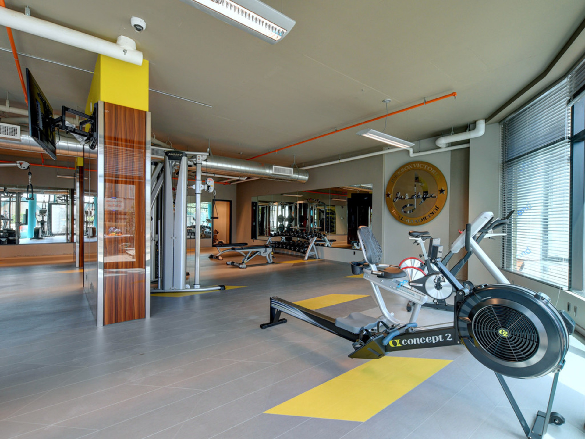 Gym at 723 - 1029 View Street, Downtown and Harris Green, Victoria