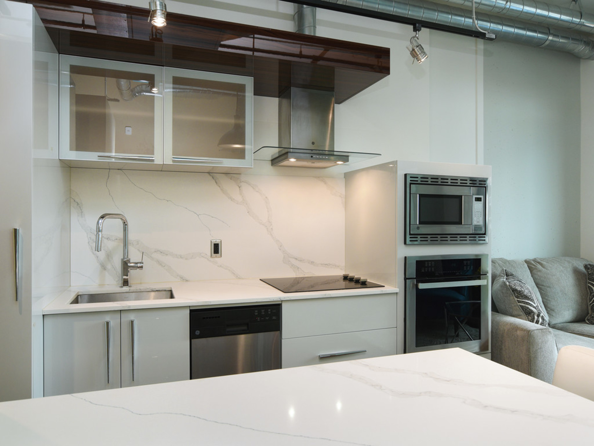 Kitchen  at 723 - 1029 View Street, Downtown and Harris Green, Victoria