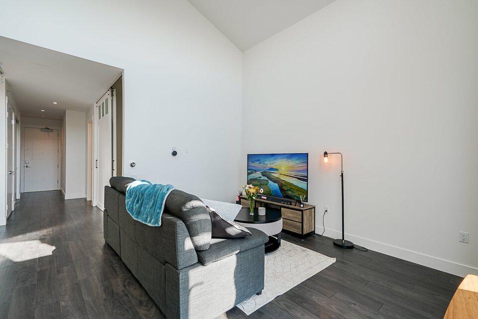 403 - 2393 Ranger Lane Living Room  at 403 - 2393 Ranger Lane, Riverwood, Port Coquitlam