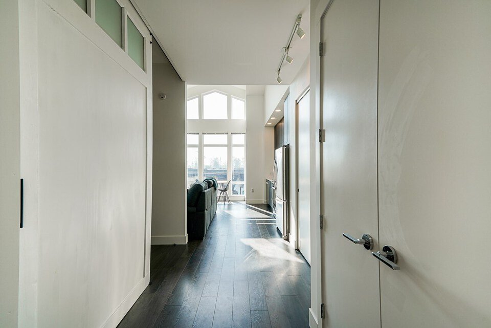 Wide Hallway at 403 - 2393 Ranger Lane, Riverwood, Port Coquitlam