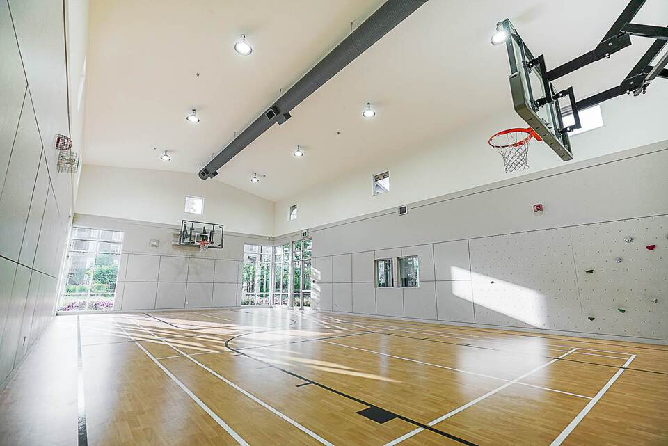 Freemont Clubhouse  Basketball Court at 403 - 2393 Ranger Lane, Riverwood, Port Coquitlam