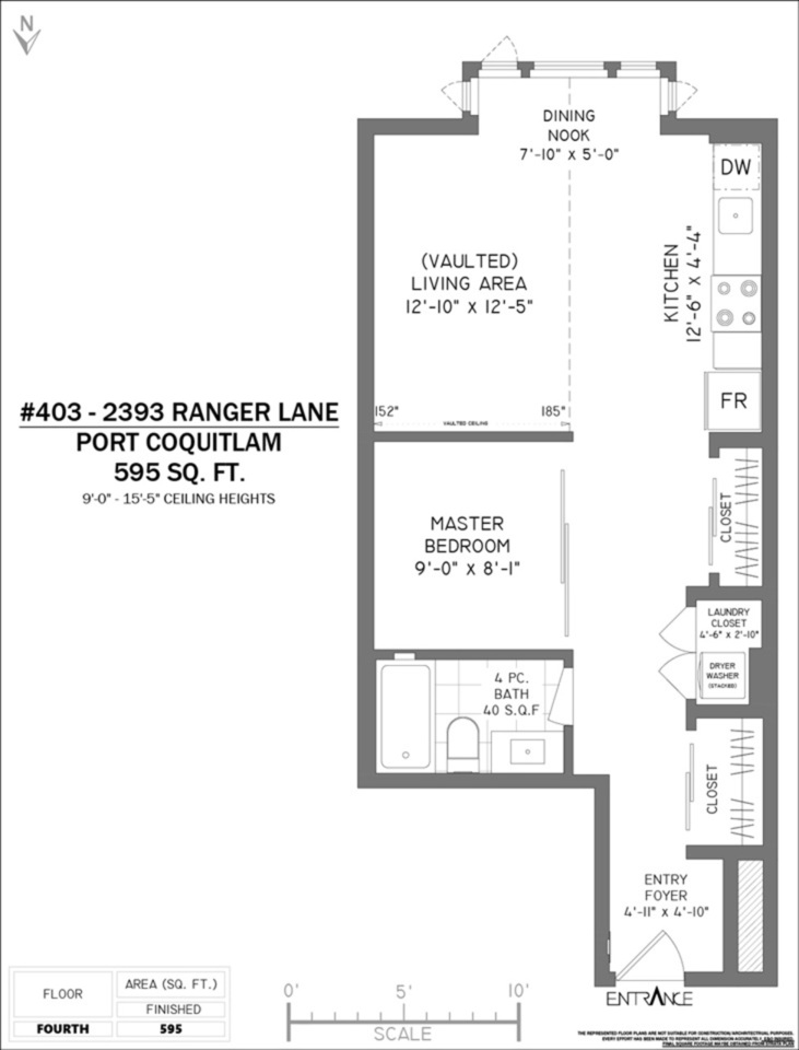 403 - 2393 Ranger Lane Port Coquitlam Floorplan at 403 - 2393 Ranger Lane, Riverwood, Port Coquitlam