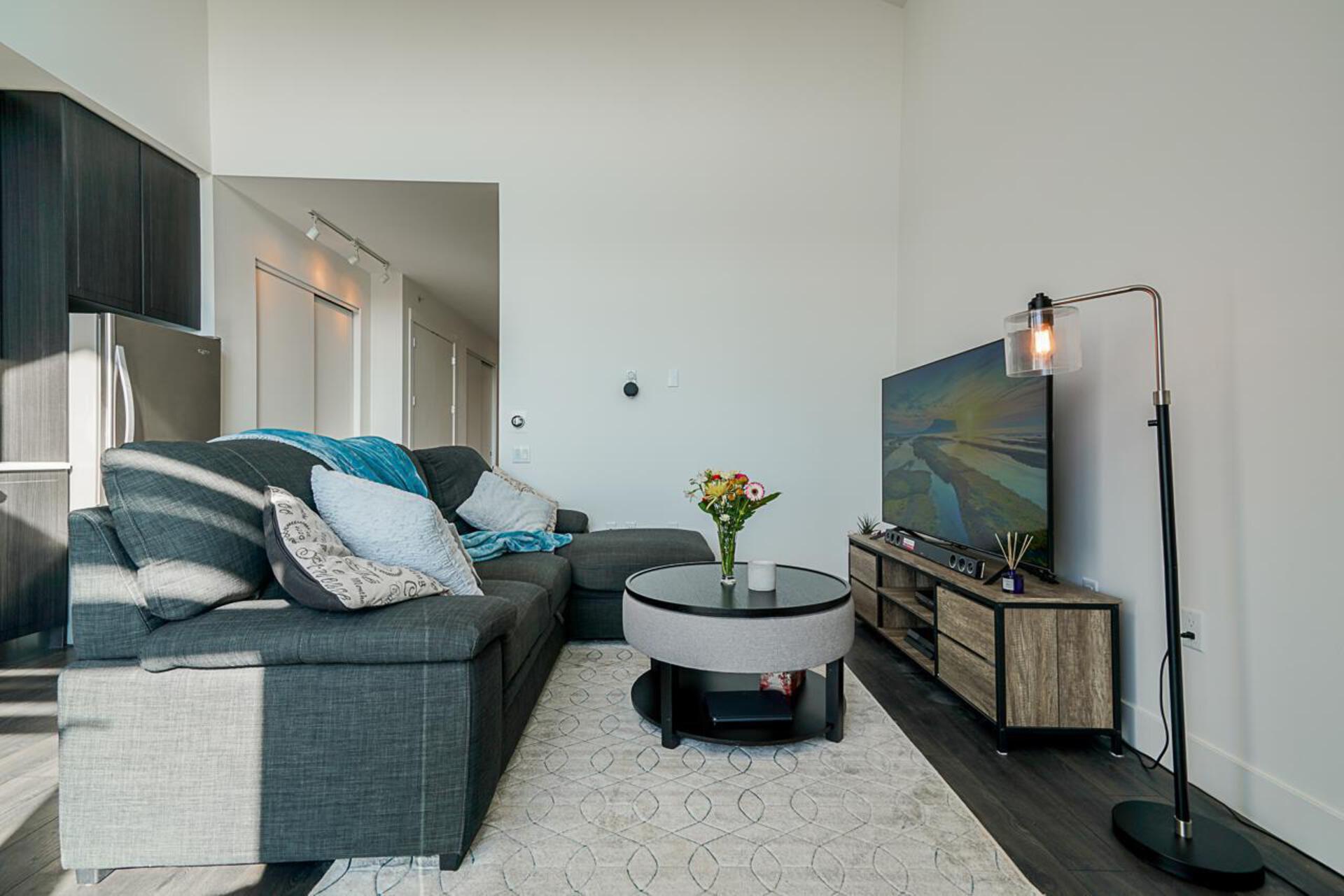 Living Room  at 403 - 2393 Ranger Lane, Riverwood, Port Coquitlam