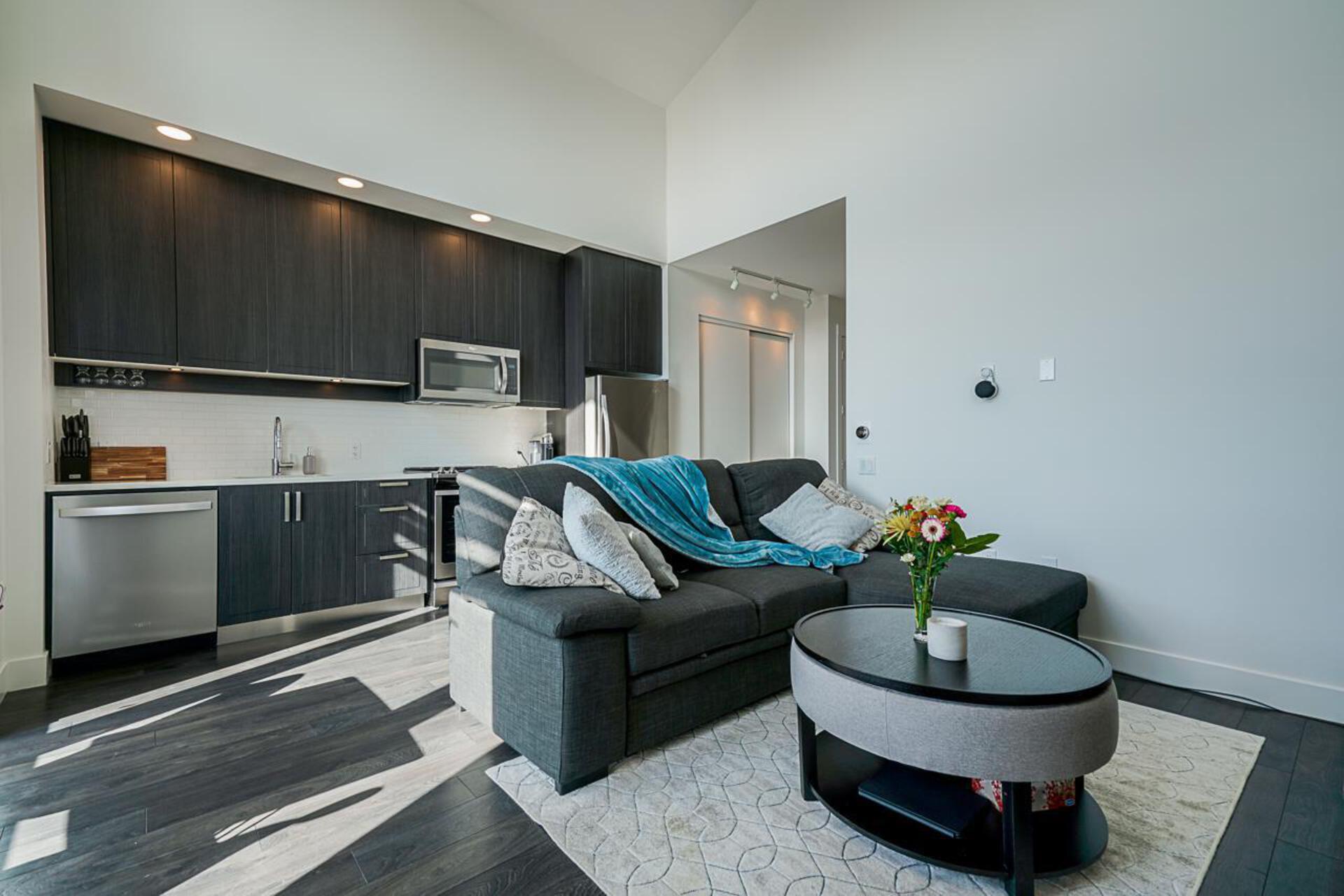 Kitchen  at 403 - 2393 Ranger Lane, Riverwood, Port Coquitlam