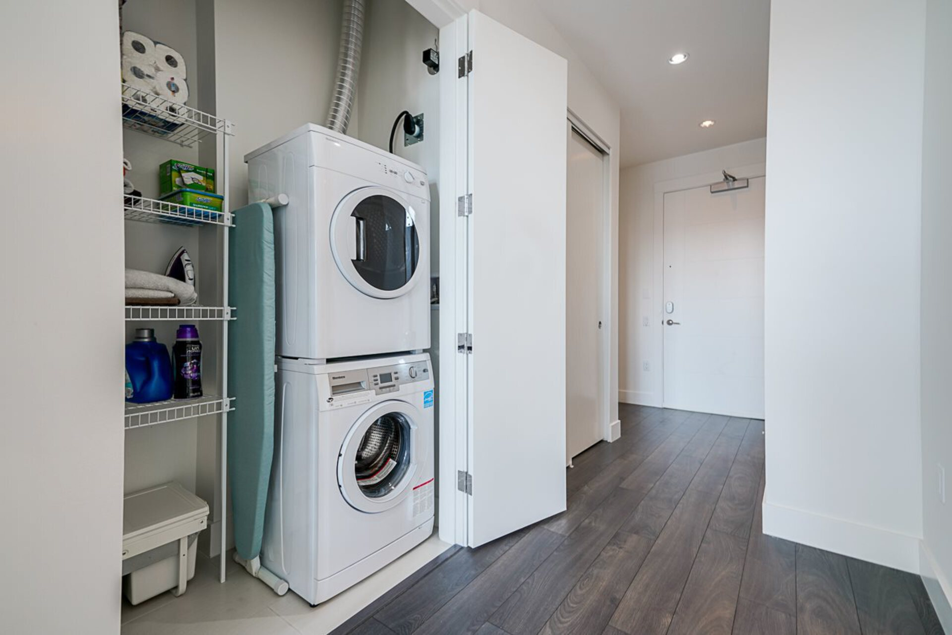Washer and Dryer at 403 - 2393 Ranger Lane, Riverwood, Port Coquitlam