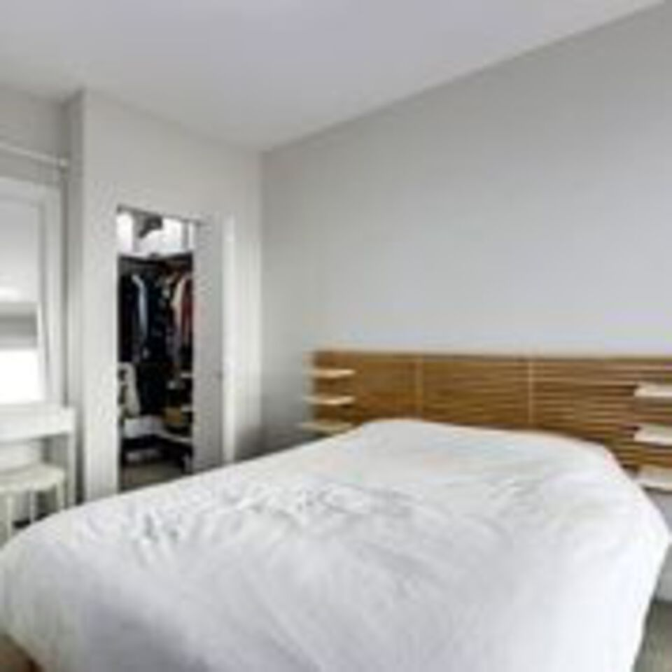 310-escala-bed-towards-walk-in-closet at 310 - 1768 Gilmore Avenue, Brentwood Park, Burnaby North