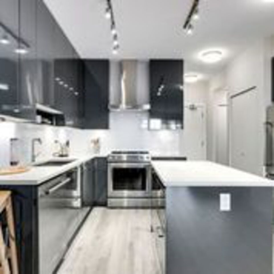 310-escala-kitchen-with-island at 310 - 1768 Gilmore Avenue, Brentwood Park, Burnaby North