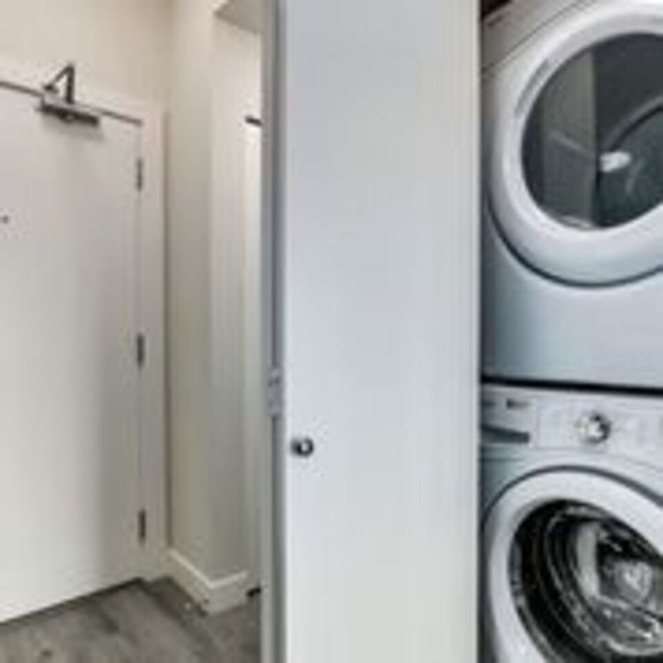 310-escala-washer-dryer at 310 - 1768 Gilmore Avenue, Brentwood Park, Burnaby North