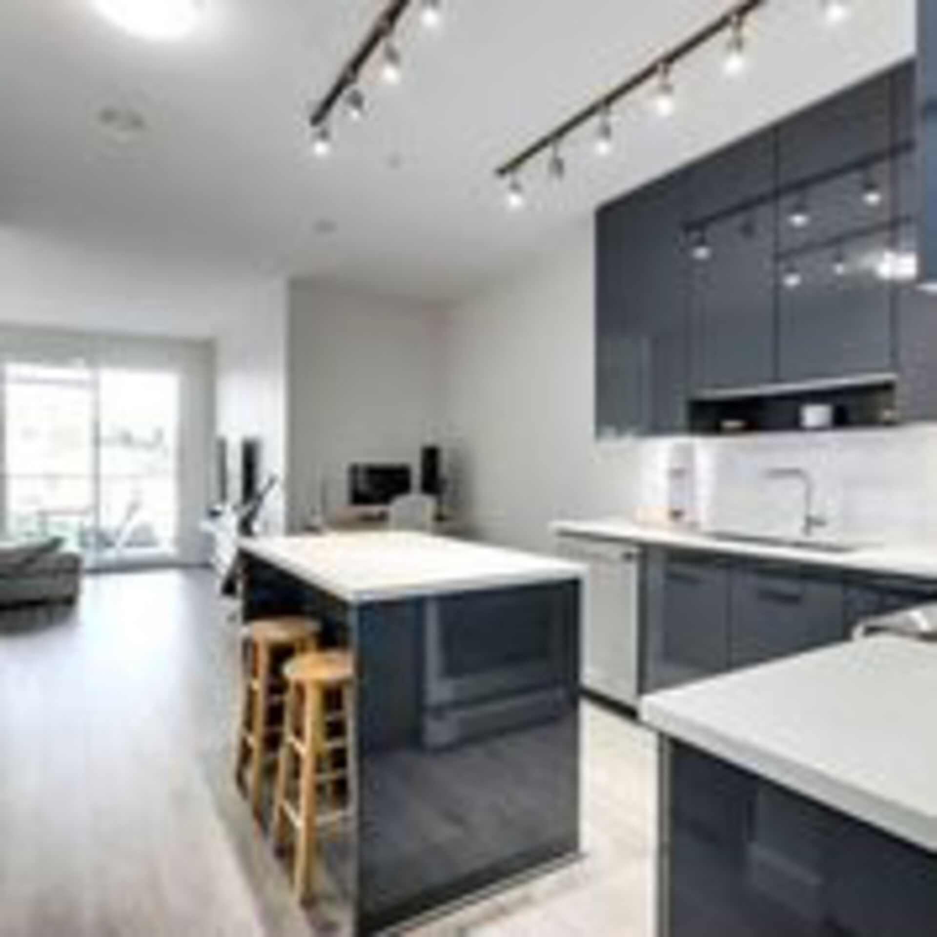 310-escala-kitchen-island-looking-north at 310 - 1768 Gilmore Avenue, Brentwood Park, Burnaby North
