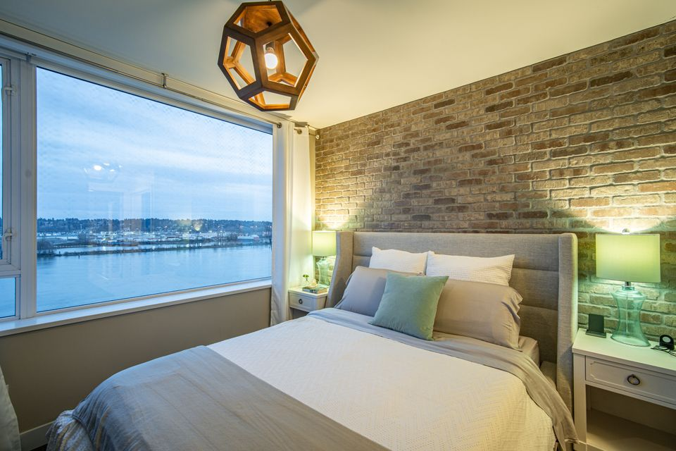 Primary Bedroom  at 910 - 668 Columbia Street, Quay, New Westminster