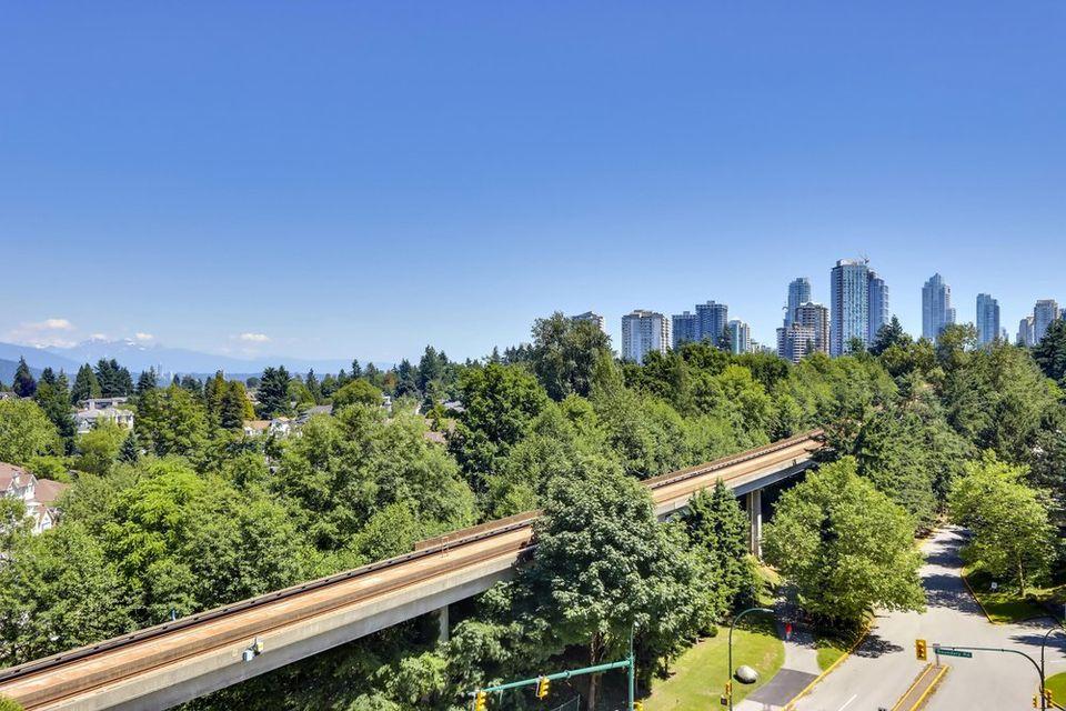 view towards east at 1103 - 5470 Ormidale Street, Collingwood VE, Vancouver East