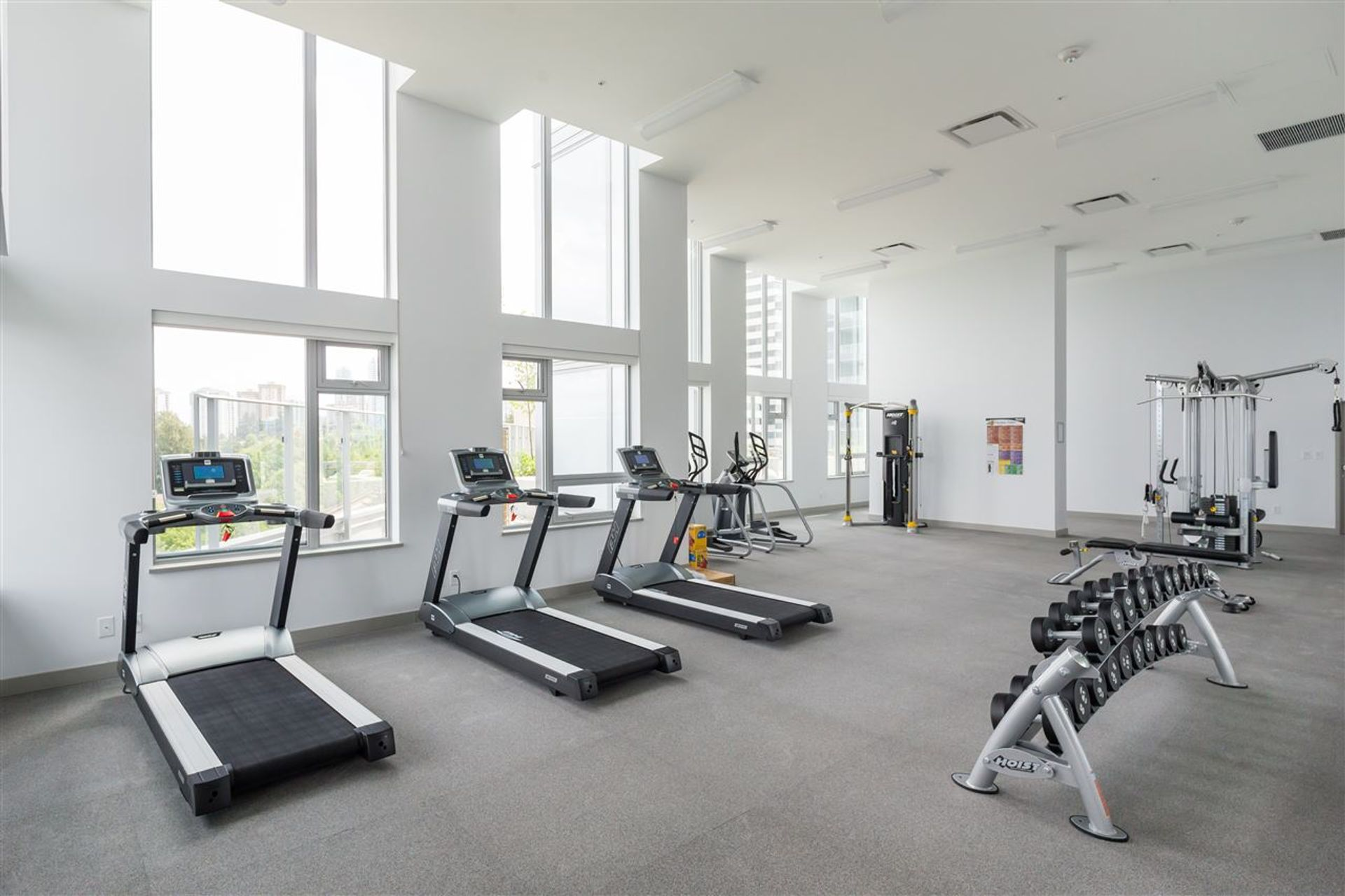 wall-centre-central-park-1103-gym at 1103 - 5470 Ormidale Street, Collingwood VE, Vancouver East