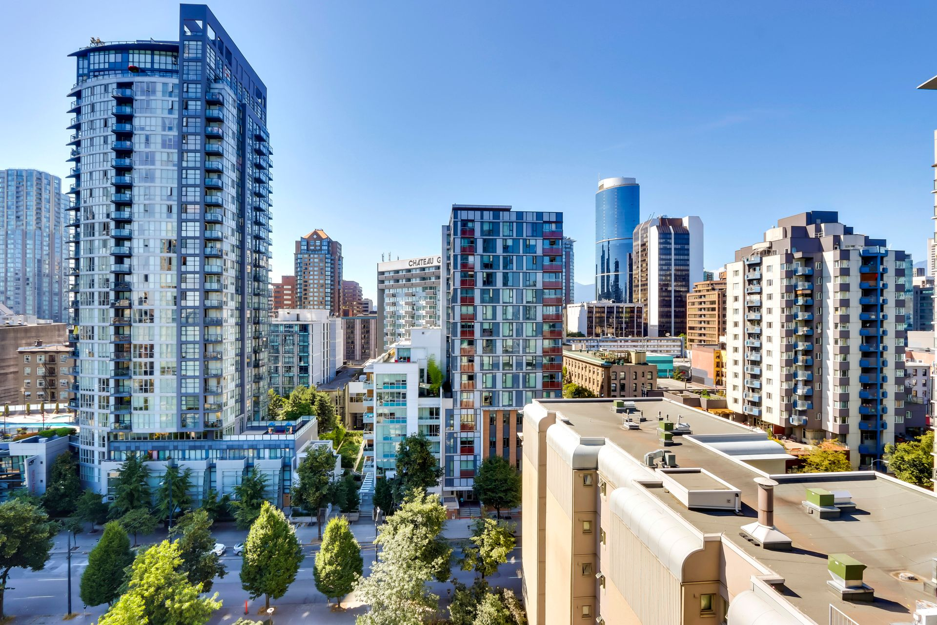 21 at 1211 - 1111 Richards Street, Yaletown, Vancouver West