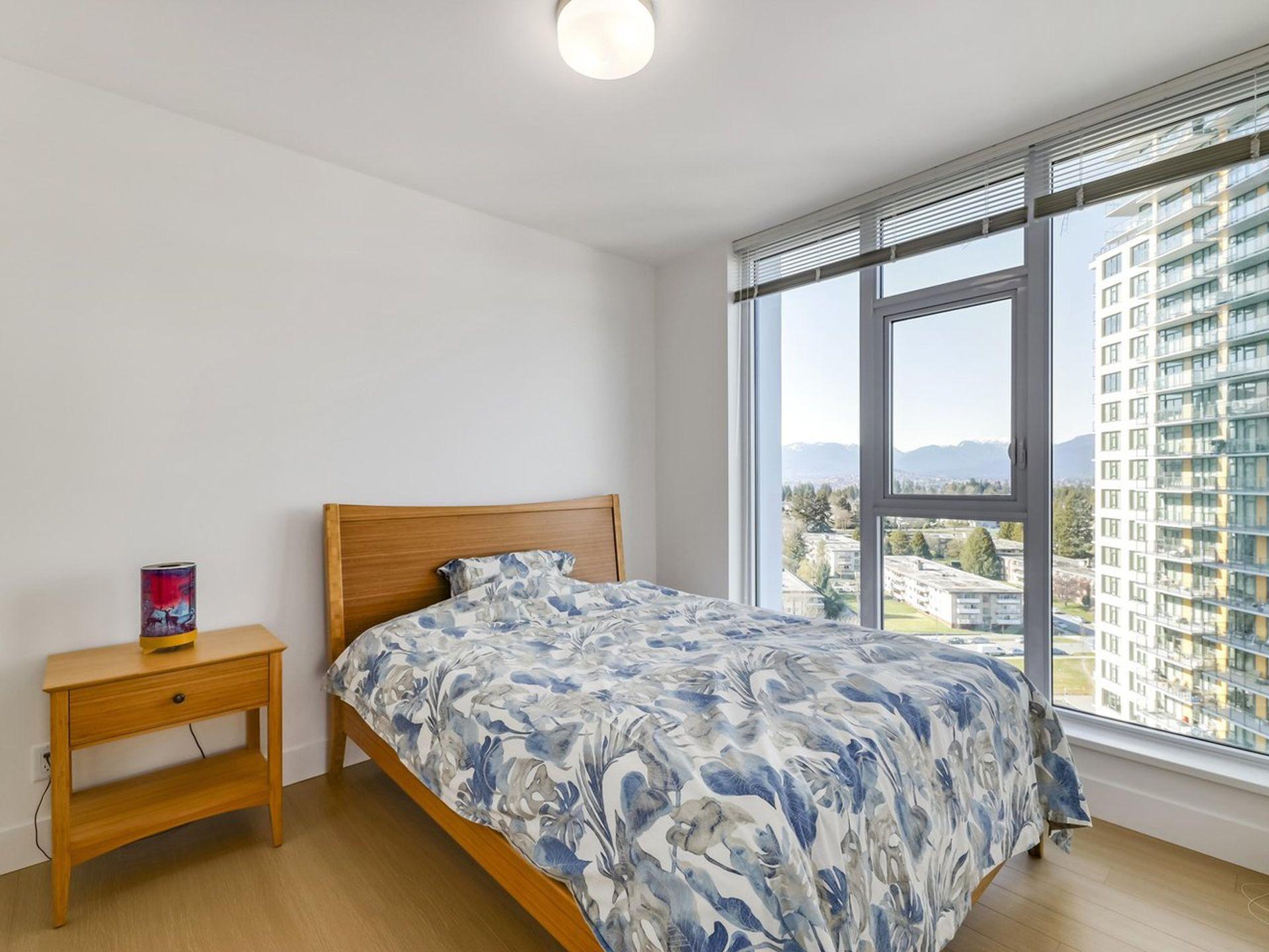 Master Bedroom  at 1605 - 7388 Kingsway, Edmonds BE, Burnaby East