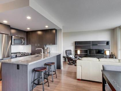 one-plus-den-affinity-2-kitchen at 2205 - 2232 Douglas Road, Brentwood Park, Burnaby North