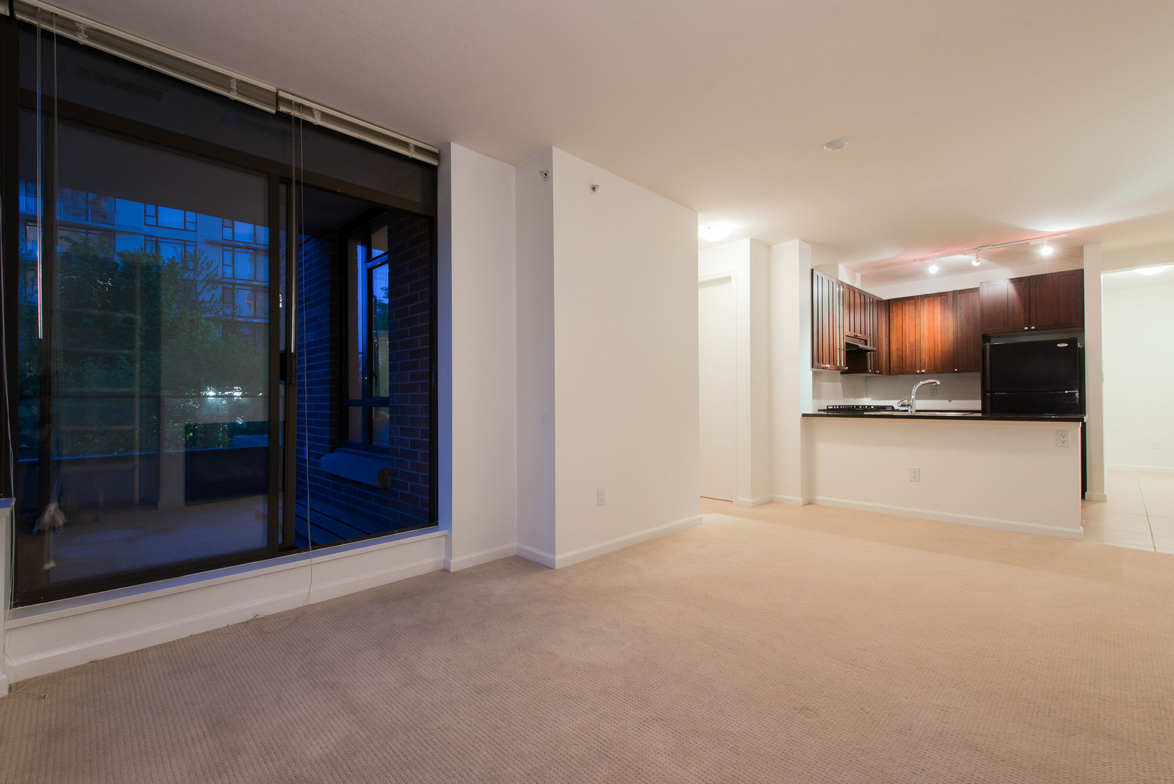 Living Room at 203 - 170 West 1st Street, Lower Lonsdale, North Vancouver
