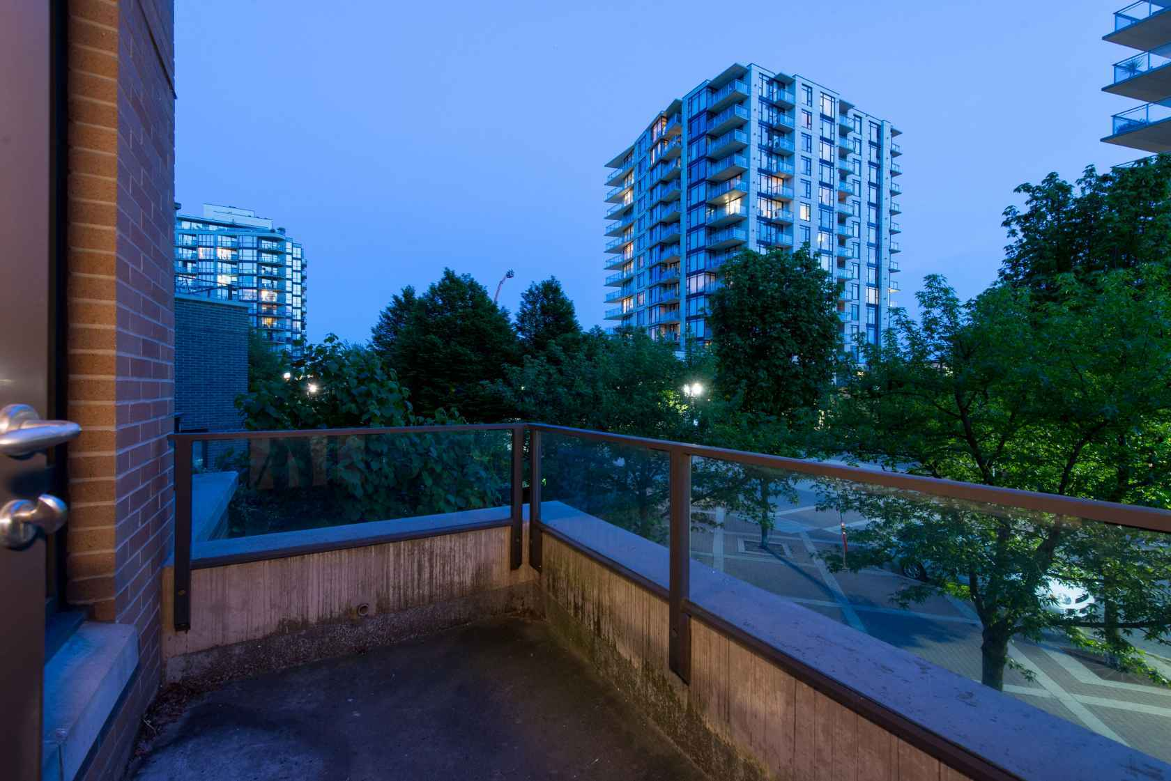 Deck at 203 - 170 West 1st Street, Lower Lonsdale, North Vancouver