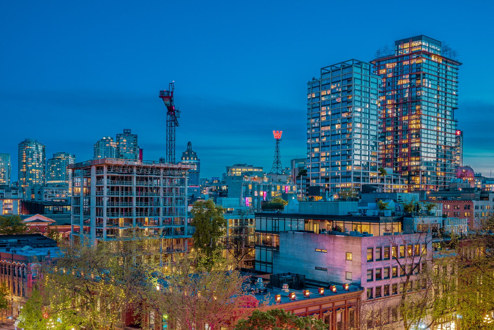at 708 - 27 Alexander Street, Downtown VW, Vancouver West