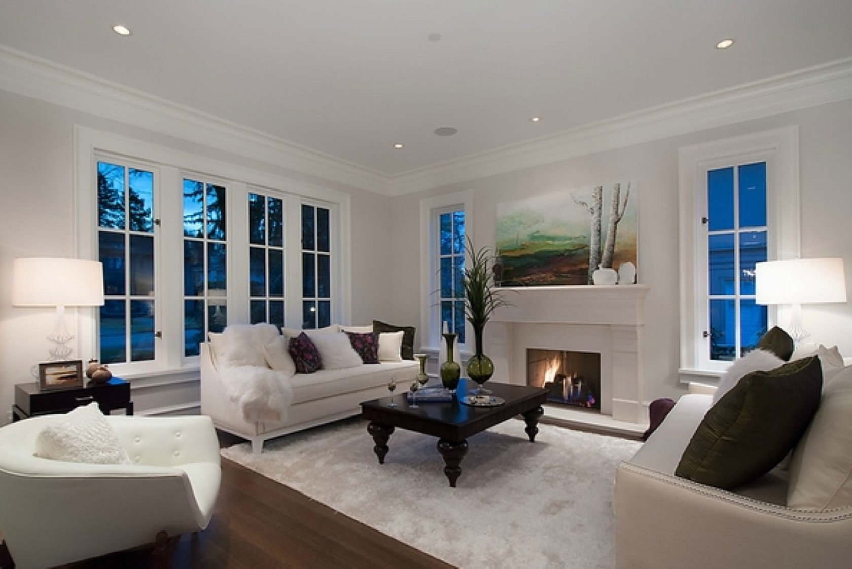 Living Room at 4449 Marguerite Street, Shaughnessy, Vancouver West
