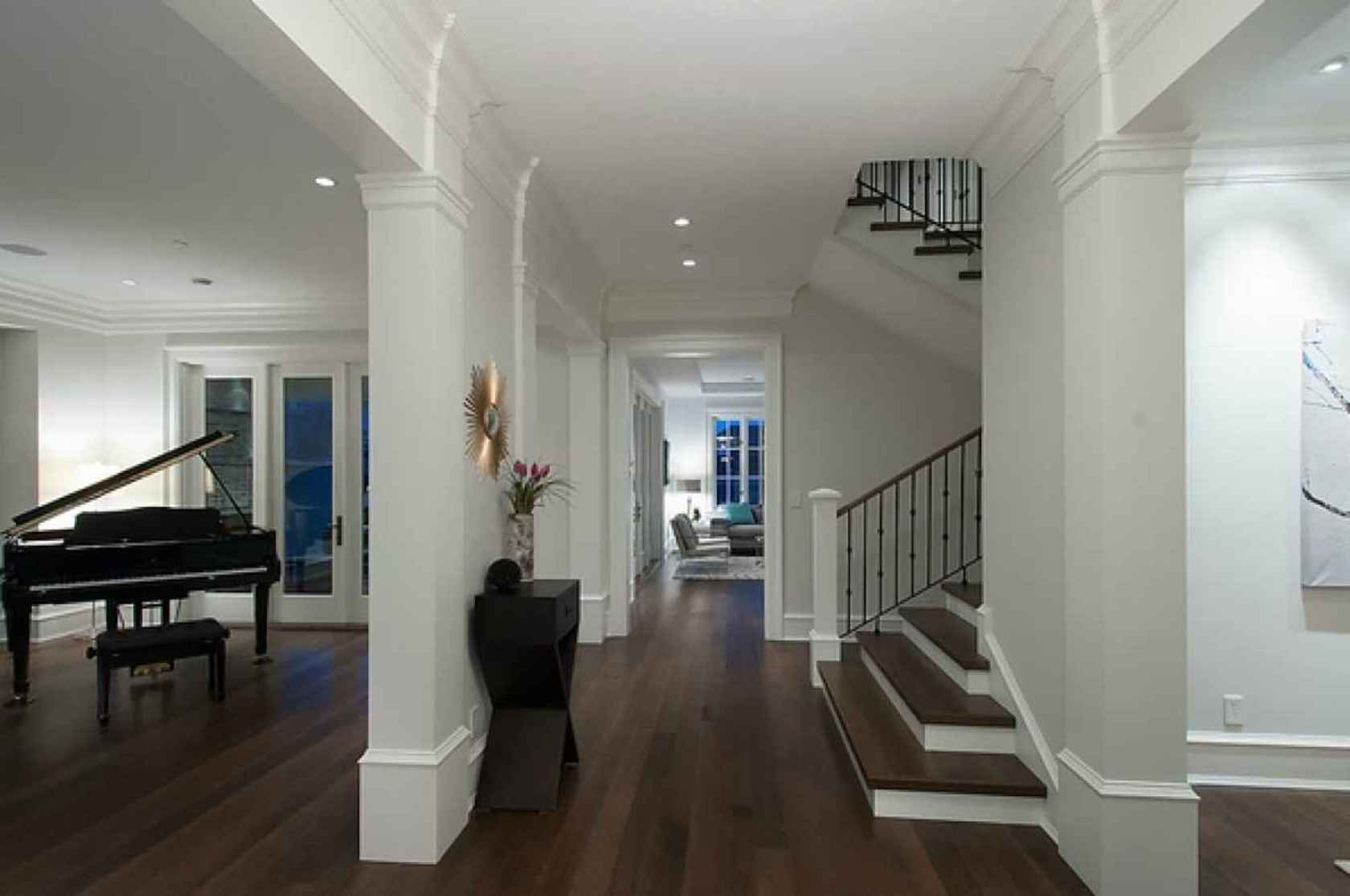 Entrance Hall at 4449 Marguerite Street, Shaughnessy, Vancouver West