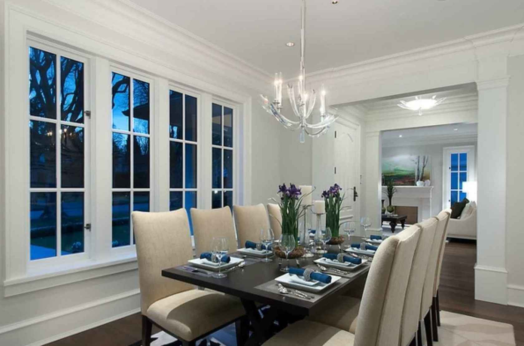 Dining Room at 4449 Marguerite Street, Shaughnessy, Vancouver West