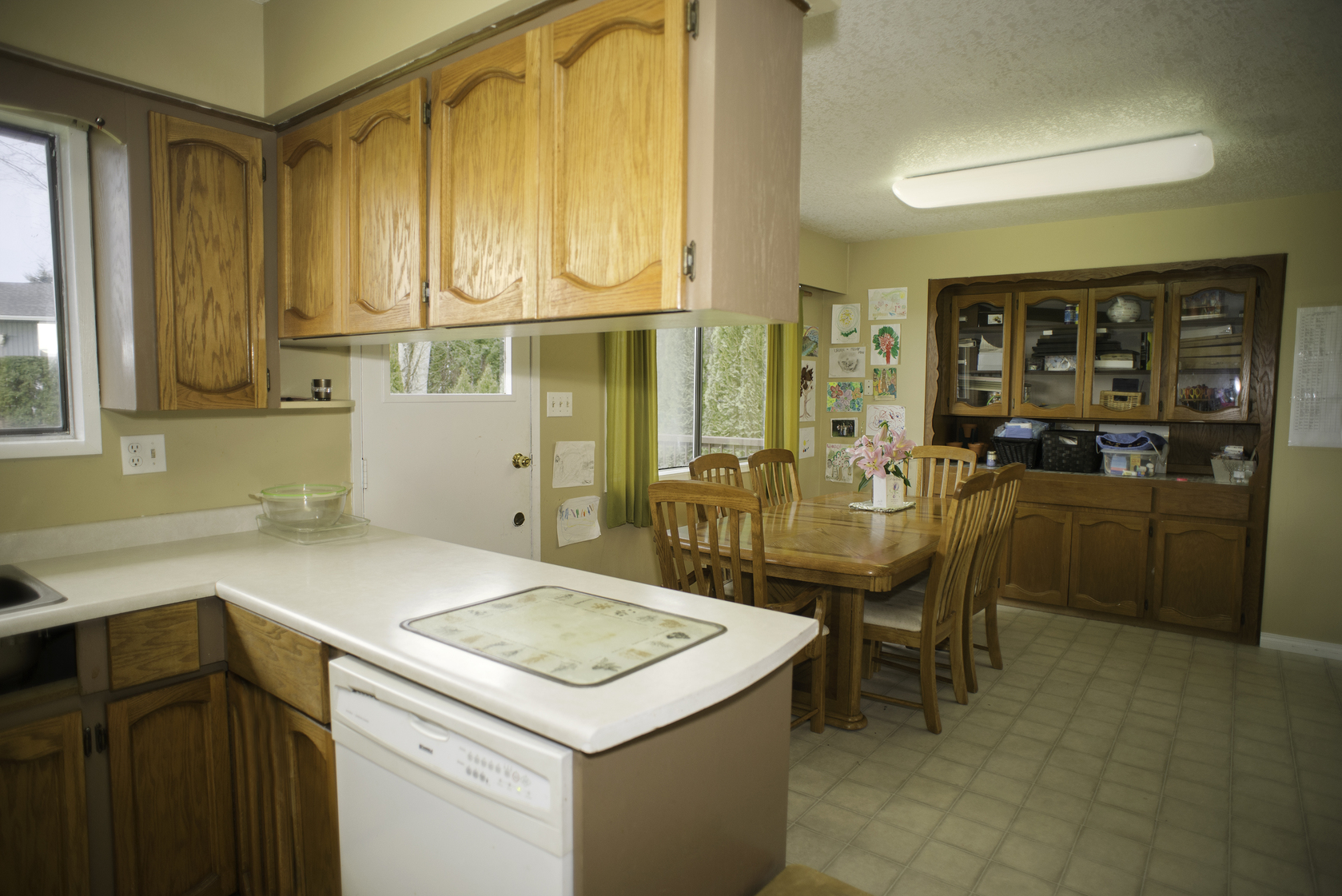 AbbyKitchen2 at 34985 Seneca Court, Abbotsford East, Abbotsford