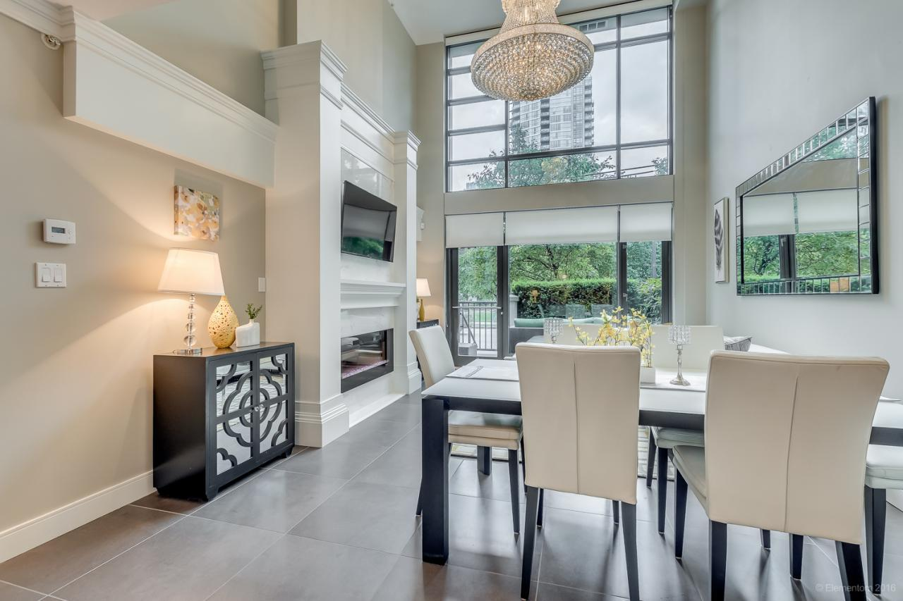 4 at 101 - 1168 Richards Street, Yaletown, Vancouver West