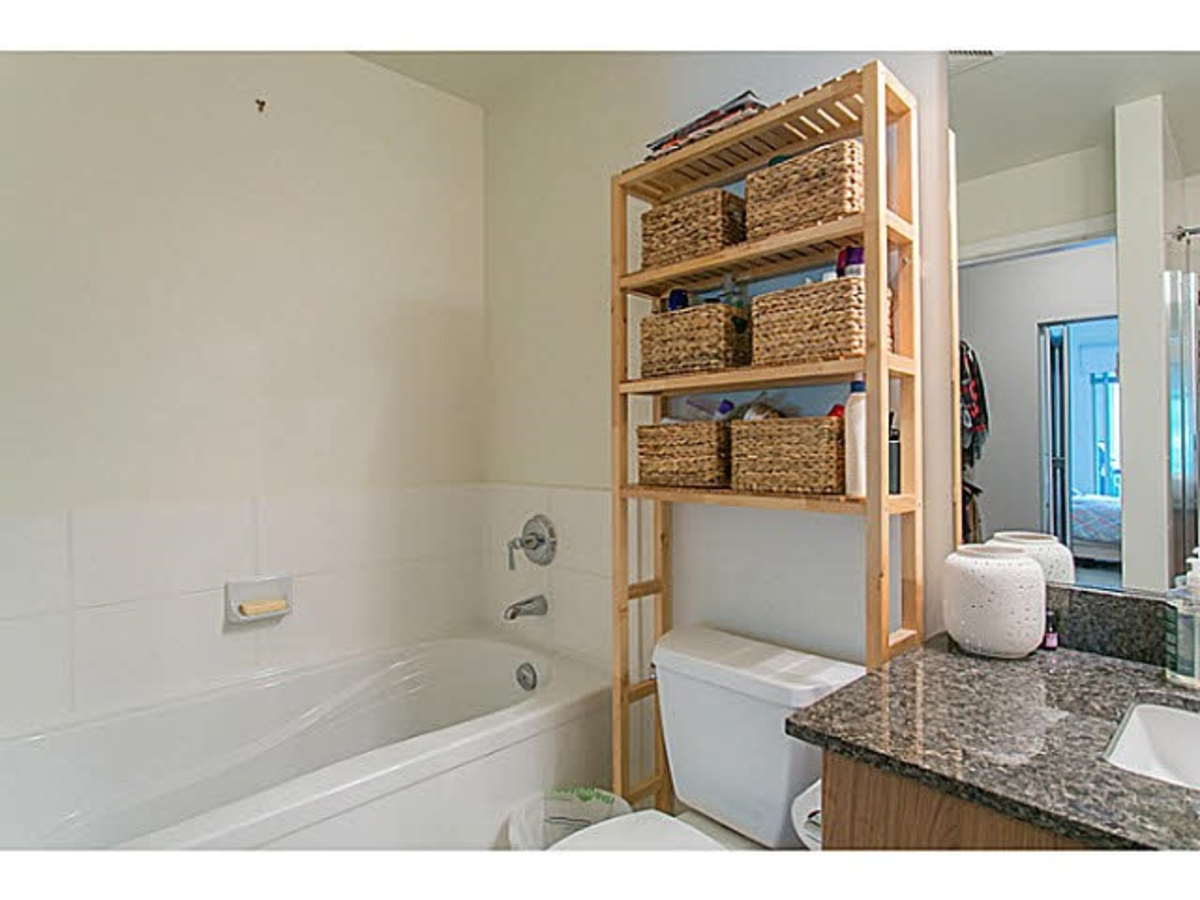 Bathroom at 202 - 255 Ross Drive, Fraserview NW, New Westminster
