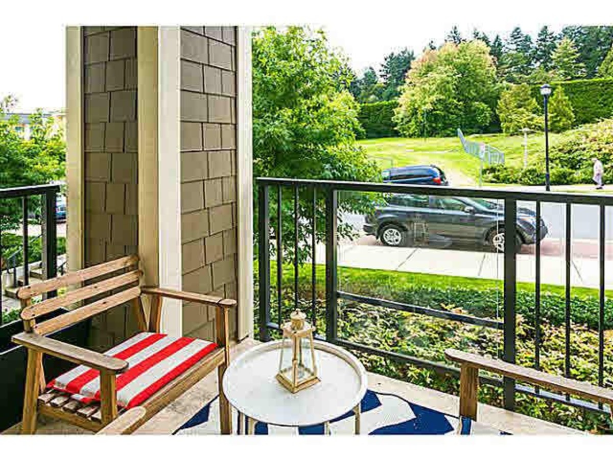 PATIO at 202 - 255 Ross Drive, Fraserview NW, New Westminster