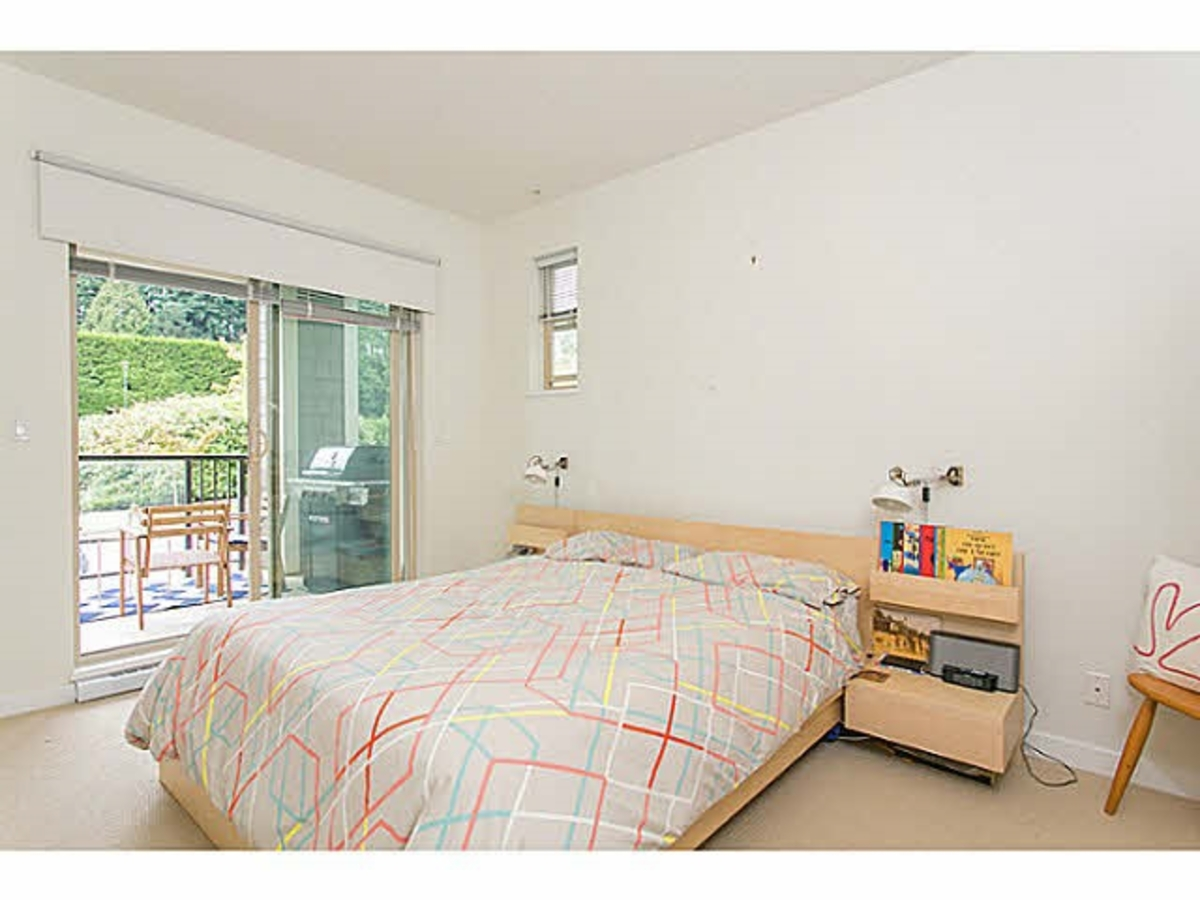 Bedroom at 202 - 255 Ross Drive, Fraserview NW, New Westminster