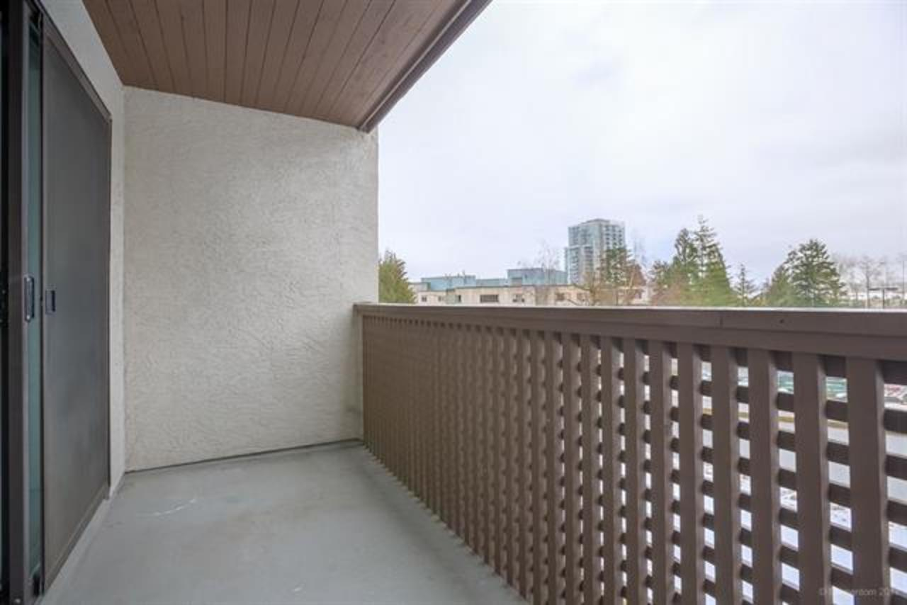 Balcony at 311 - 340 Ginger Drive, Fraserview NW, New Westminster