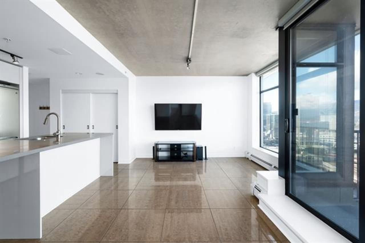 Living Room at 2902 - 128 W Cordova, Downtown VW, Vancouver West